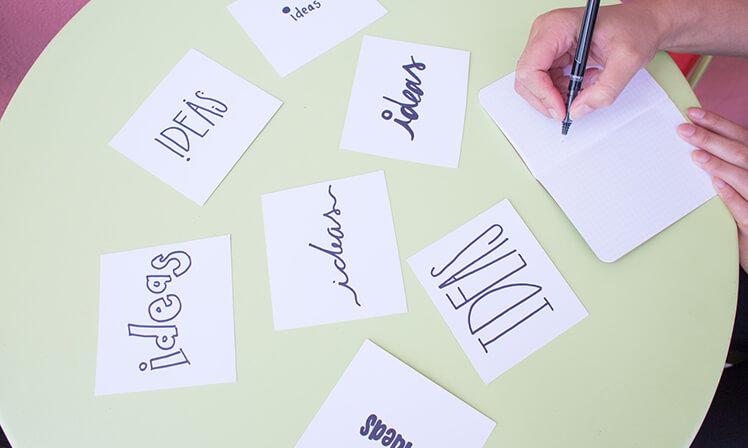 Não existe ideia errada em um brainstorm